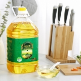 得尔乐 有机山茶油5L头道初榨油茶籽油 物理压榨食用油 国营优品