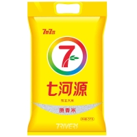 七河源 原香米 特选长粒香米 东北大米5kg(新老包装随机发货)