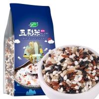 十月稻田 五彩米 (黑米、糯米、黑糯米、红米、糙米等 杂粮 腊八粥料 粥米原料 大米伴侣)1kg