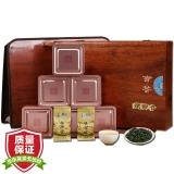 阅客 茶叶 乌龙茶 一级安溪铁观音木质茶叶礼盒 500g