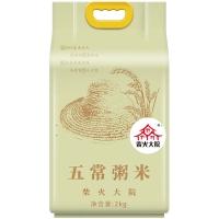 柴火大院 五常粥米 稻花香米 五常大米 东北大米伴侣 2kg