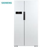 西门子(SIEMENS) 610升 变频风冷无霜对开门冰箱 大容量 速冷速冻(白色) BCD-610W(KA92NV02TI)