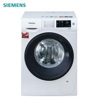 西门子(SIEMENS) 9公斤 变频滚筒洗衣机 降噪节能 触控面板 除菌液程序(白色) XQG90-WM12U4C00W