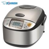 象?。╖O JIRUSHI)NS-TSH18C 微電腦多功能電飯煲 日本標準1.8L/國內標準5L 不銹鋼棕色