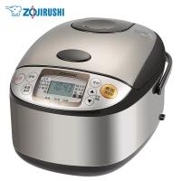 象印(ZO JIRUSHI)NS-TSH18C 微电脑多功能电饭煲 日本标准1.8L/国内标准5L 不锈钢棕色