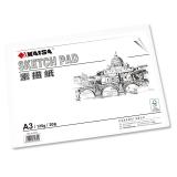 凱薩(KAISA)素描紙135g美術繪畫紙鉛畫紙 A3(420*297mm) 20張/袋 KS-90302