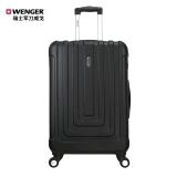 瑞士军刀威戈(Wenger)拉杆箱 男女商务休闲ABS 20英寸万向轮登机箱行李箱旅行箱 黑色 SAX631115109058