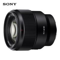 索尼(SONY)FE 85mm F1.8全画幅中远摄定焦微单相机镜头 E卡口(SEL85F18)