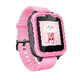 搜狗糖猫(teemo)儿童智能电话手表joy 4G智能问答 粉色 高清通话拍照GPS定位防丢防水学生手机 女孩