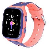 Kido儿童手表K3S 4G全网通智能儿童电话手表 360度安全防护 IP68级防水 女孩礼物 博通独立定位  学生紫色