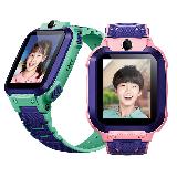 小天才儿童电话手表Z5q防水GPS定位智能手表 学生儿童移动联通电信4G视频拍照手表手机男女孩青粉