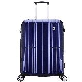爱华仕(OIWAS)万向轮学生行李箱男 德国拜耳PC自营旅行密码箱 登机箱6176 商务拉杆箱 20英寸蓝色