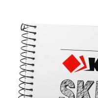凱薩(KAISA)線圈素描本110g美術繪畫素描紙鉛畫紙 A4(210*297mm) 40張/本 KS-90296