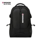 瑞士军刀威戈(Wenger)15.6英寸商务笔记本电脑包运动户外双肩书包背包男黑色SAB86813109048