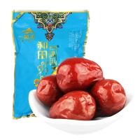 一品玉 休閑零食 蜜餞果干 新疆特產 大棗 和田大紅棗四星450g/袋