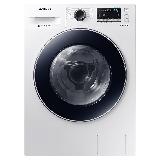三星(SAMSUNG)8公斤烘洗一体变频全自动滚筒洗衣机 DD智能变频 清新除菌 节能静音WD80M4473JW/SC(白)