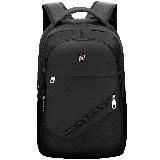 爱华仕(OIWAS)双肩包商务自营 时尚简约电脑包14英寸男女包 4082黑色