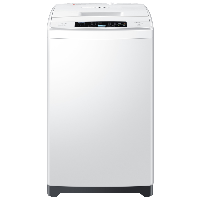 海爾(Haier)6公斤全自動波輪洗衣機 低洗高漂省水潔凈 量衣進水 浸泡洗瓦解頑固污漬 EB60M19
