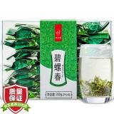忆江南 茶叶 绿茶 碧螺春 PVC盒 200g