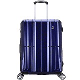 爱华仕(OIWAS)PC拉杆箱6176 时尚万向轮行李箱 飞机轮旅行箱商务出差托运箱 24英寸蓝色