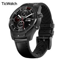 【TicWatch Pro蓝牙版】智能手表男续航30天 成人wifi计步器GPS运动心率支付创新双层屏 安卓苹果ios  幻影黑