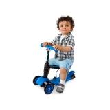 菲乐骑 儿童滑板车童车 蓝色,1-5岁 glider 3 in 1