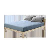 天鹅绒柔暖床笠1.5M床:150*200*28cm*蓝色