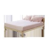 天鹅绒柔暖床笠1.5M床:150*200*28cm*粉色