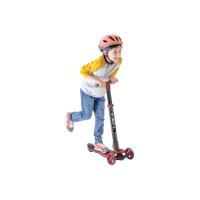 菲乐骑 儿童三轮滑板车可折叠 红色,3-9岁glider 4.0