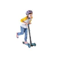 菲乐骑 儿童三轮滑板车可折叠 蓝色,3-9岁glider 4.0