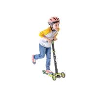 菲乐骑 儿童三轮滑板车可折叠 绿色,3-9岁glider 4.0