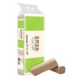 顺清柔 不漂白本色木浆卫生纸 4层75g*12卷无芯卷纸