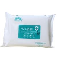 萌米兔75%酒精消毒湿巾,40s