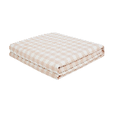 可水洗的慵懒舒适,日式水洗棉大豆纤维薄被樱花粉*150*200cm