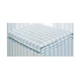 可水洗的慵懒舒适,日式水洗棉大豆纤维薄被水波蓝*150*200cm