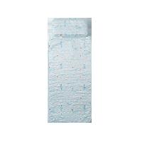 絎縫可水洗,嬰童冰絲涼席&枕頭二件套藍色-鯨魚歷險記