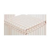 可水洗的慵懒舒适,日式水洗棉大豆纤维薄被樱花粉*200*230cm