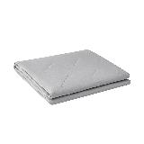 可水洗不闷汗,自然棉麻透气夏凉被150*200cm*浅灰色