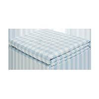 可水洗的慵懒舒适,日式水洗棉大豆纤维薄被水波蓝*200*230cm