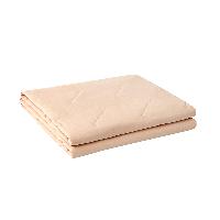 可水洗不悶汗,自然棉麻透氣夏涼被150*200cm*茱萸粉
