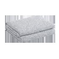 柔彈裸睡必備,全棉針織大豆纖維抗菌夏被迷霧灰*150*200cm