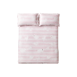 柔軟抑菌,竹語天絲軟涼席三件套粉色