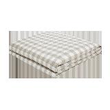 可水洗的慵懒舒适,日式水洗棉大豆纤维薄被抹茶咖*150*200cm