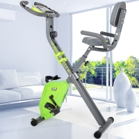蓝堡 折叠家用静音磁控健身车 室内动感单车运动自行车 健身器材 LD-986