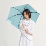 太阳伞遮阳伞蕉下纸意若竹绿五折伞若竹绿防晒