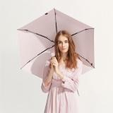 太阳伞遮阳伞蕉下纸意柔纱粉五折伞柔纱粉防晒