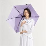 太阳伞遮阳伞蕉下纸意千草紫五折伞千草紫防晒