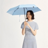 太阳伞遮阳伞蕉下纸意石青蓝五折伞石青蓝防晒