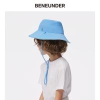 蕉下,穹顶系列亲子防晒渔夫帽,湛蓝色,防晒,帽子