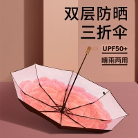 蕉下,奥斯町系列三折伞,弗洛斯,防晒